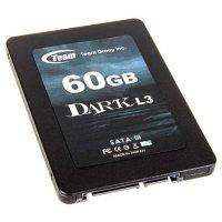 """SSD TEAM Dark L3 60GB 2.5"""" SATA (T253L3060GMC101)"""