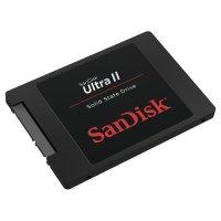 "SSD SANDISK Ultra II 240GB 2.5"" SATA (SDSSDHII-240G-G25)"