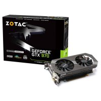Видеокарта ZOTAC GeForce GTX 970 4GB GDDR5 256-bit