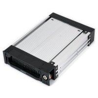 "Карман AGESTAR SR1A (K)-1F для установки SSD/HDD 3.5"" в отсек 5.25"" SATA"