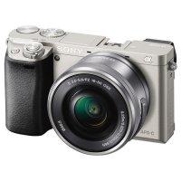 Фотоаппарат SONY Alpha 6000 Silver Kit 16-50 mm f/3.5-5.6 OSS E PZ