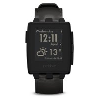 Умные часы PEBBLE Watch Steel Black Matte