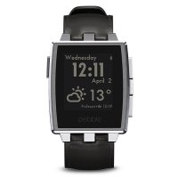 Умные часы PEBBLE Watch Steel Brushed Stainless