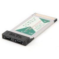 Адаптер GEMBIRD PCMCIA-SATA2