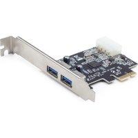 Контроллер GEMBIRD PCI-E to 2-Port USB 3.0 (UPC-30-2P)