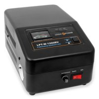 Стабилизатор LOGICPOWER LPT-W-1200RV Black