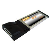 Адаптер STLab ExpressCard to eSATA/USB Combo (C-440)