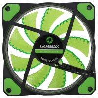 Кулер для корпуса GAMEMAX GaleForce 32 LED Green (GMX-GF12G)