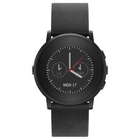Умные часы PEBBLE Time Round 20 mm Black