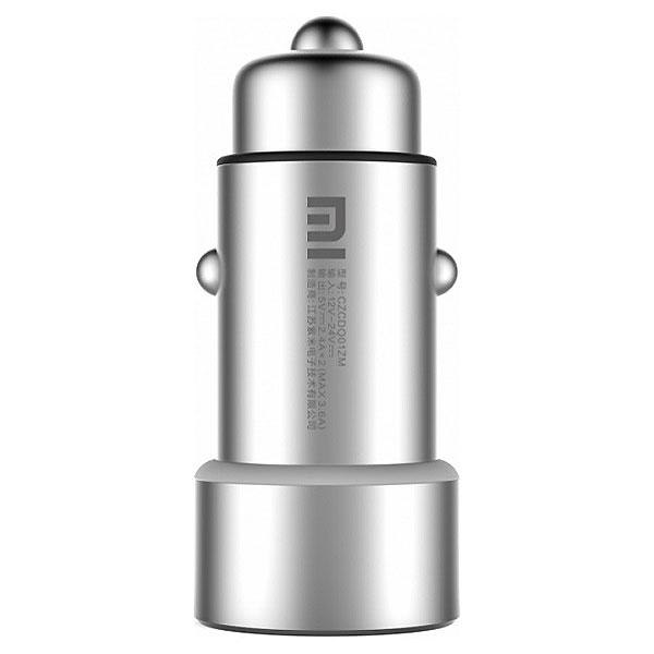 Автомобильное зарядное устройство XIAOMI Mi Dual Car Charger (CZCDQ01ZM/GDS4042CN)