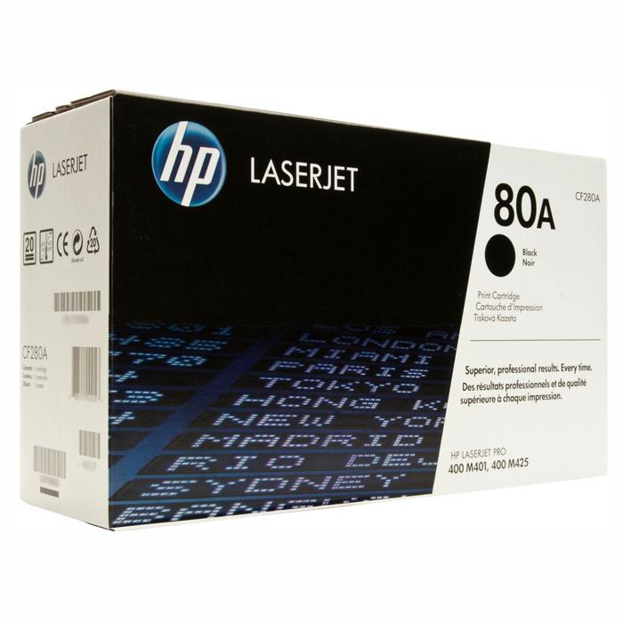 Тонер-картридж HP 80A Black (CF280A)