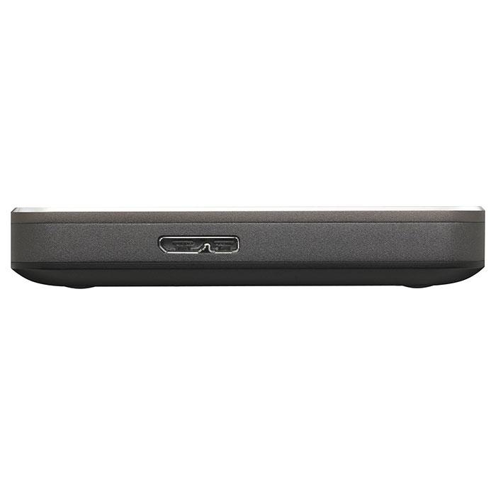 Портативный жёсткий диск TOSHIBA Canvio Premium 1TB USB3.0 Dark Gray Metallic (HDTW110EB3AA)