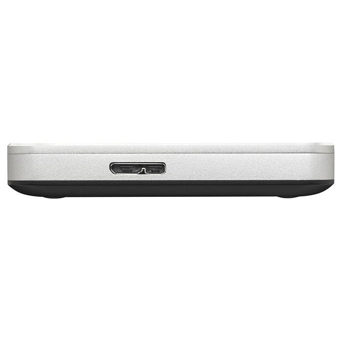 Портативный жёсткий диск TOSHIBA Canvio Premium for Mac 2TB USB3.0 Silver Metallic (HDTW120ECMCA)
