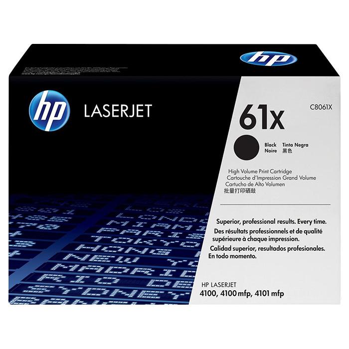 Тонер-картридж HP 61X Black (C8061X)