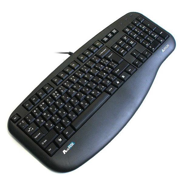Клавiатура A4TECH KLS-30 PS/2 Black