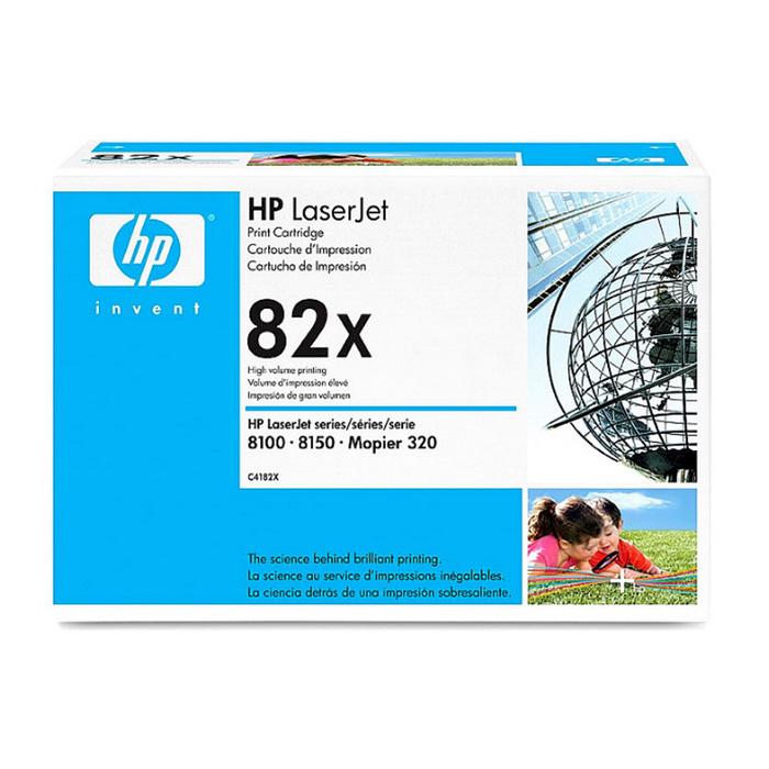 Картридж повышенной емкости HP 82X Black