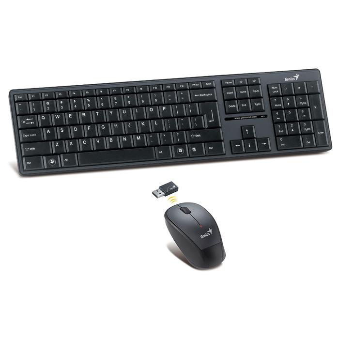 Бездротовий комплект GENIUS SlimStar 8000 Black