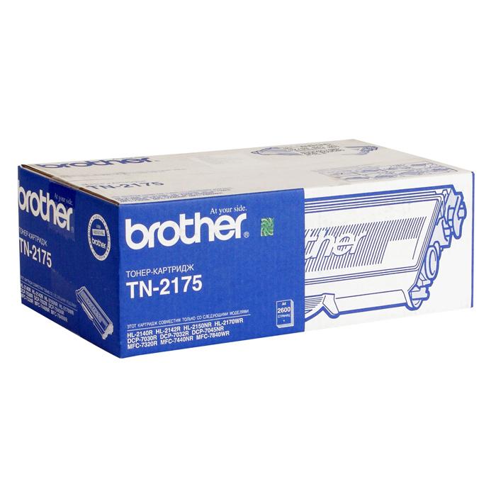 Тонер-картридж BROTHER TN-2175 Black