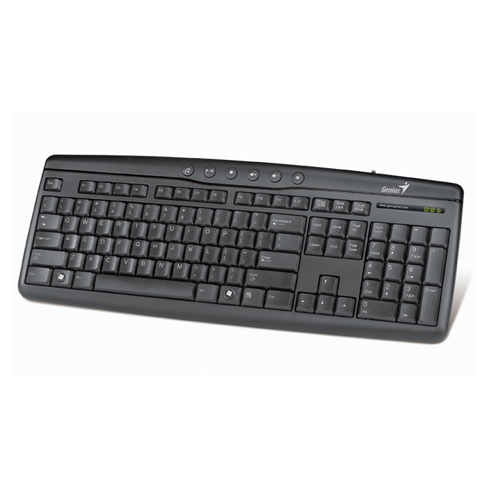 Клавіатура GENIUS KB-202 Black (31310461106)