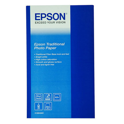 Фотопапір EPSON Traditional Photo A3+ 325г/м² 25л (C13S045051)