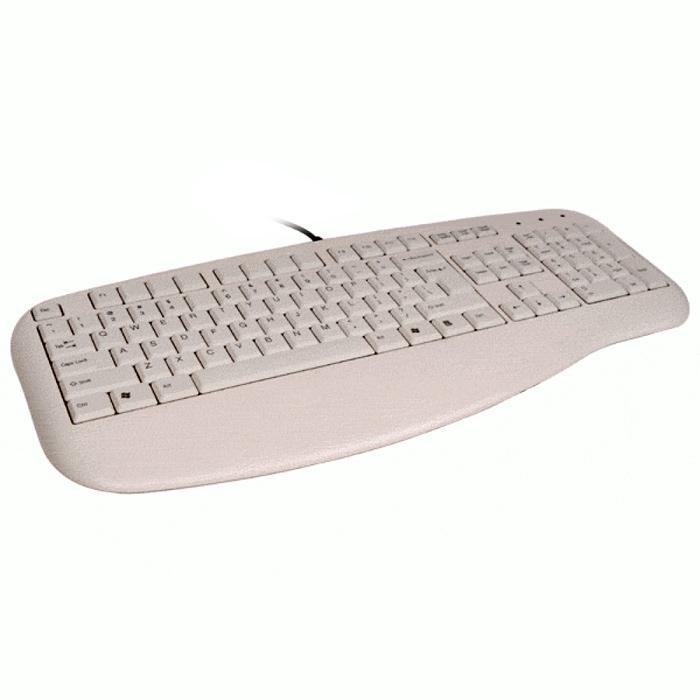 Клавiатура A4TECH KL-30 PS/2 White