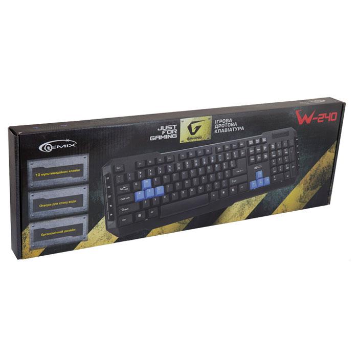 Клавіатура GEMIX W-240