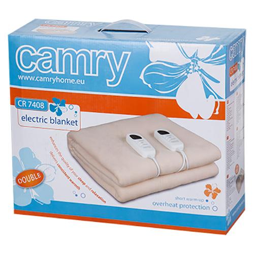 Электроодеяло CAMRY CR 7408
