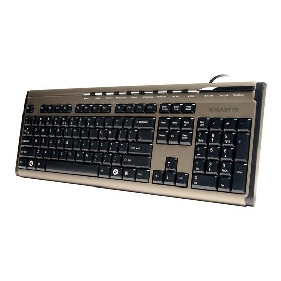 Клавiатура GIGABYTE GK-K6150 USB Champagne