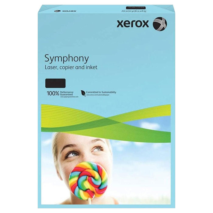 Офісний кольоровий папір XEROX Symphony Color Set 3 A4 80г/м² 250л (496L94184)