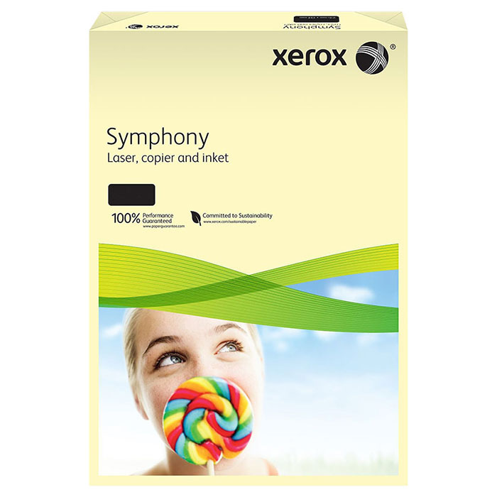 Офісний кольоровий папір XEROX Symphony Pastel Ivory A4 80г/м² 500арк (003R93964)