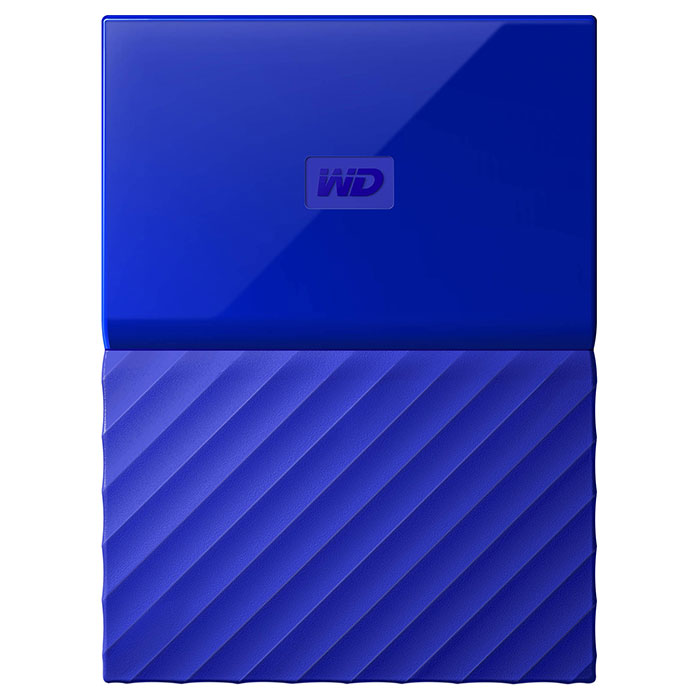 Портативный жёсткий диск WD My Passport 1TB USB3.0 Blue (WDBYNN0010BBL-WESN)