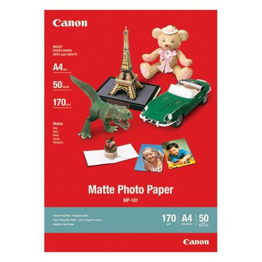 Фотопапір CANON Photo Matte A4 170г/м² 50л (7981A005)