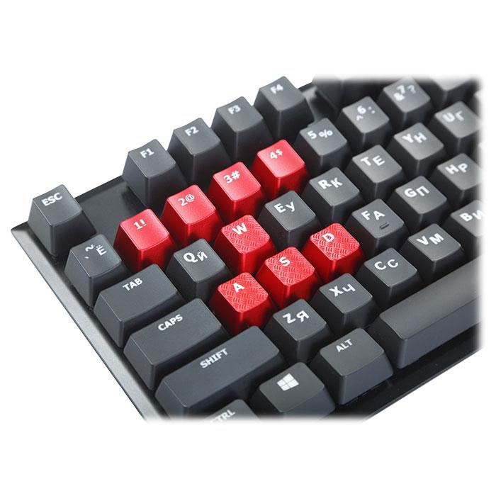Клавіатура HYPERX Alloy FPS Cherry MX Red (HX-KB1RD1-RU/A5)