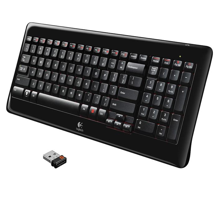Клавіатура бездротова LOGITECH K340 (920-001992)