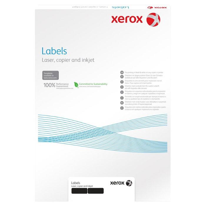 Самоклеюча наліпка XEROX Mono Laser 30UP squared 100л (003R97409)