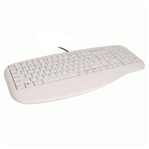 Клавiатура A4TECH KL-30 USB White