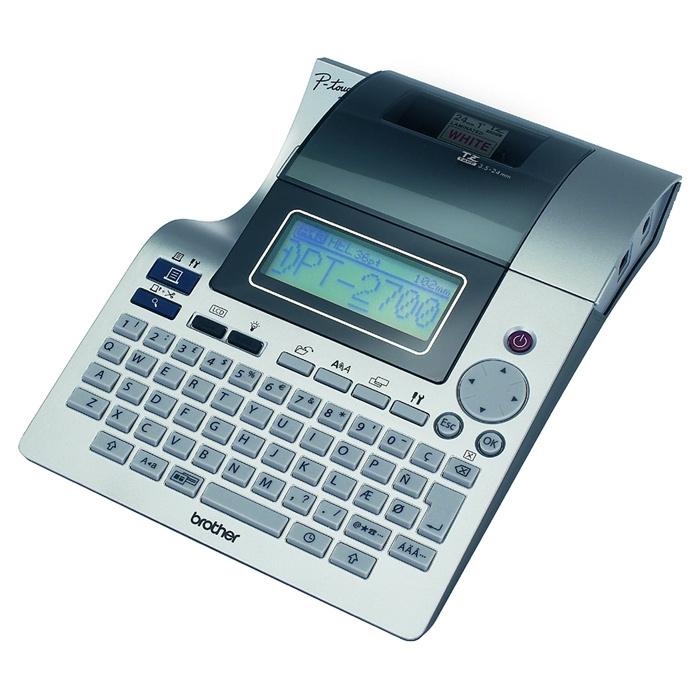 Принтер для друку наклейок BROTHER P-Touch PT-2700VP (PT2700VPR1)