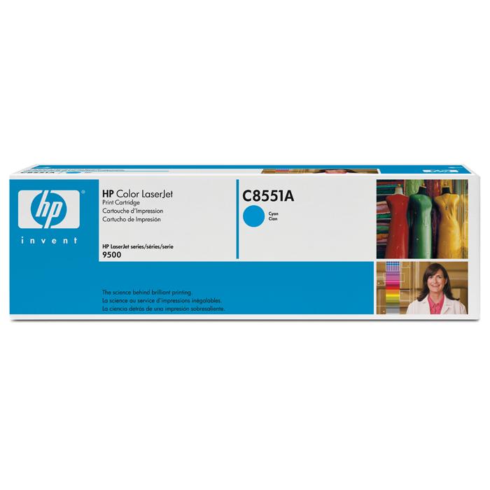 Картридж HP C8551A Cyan