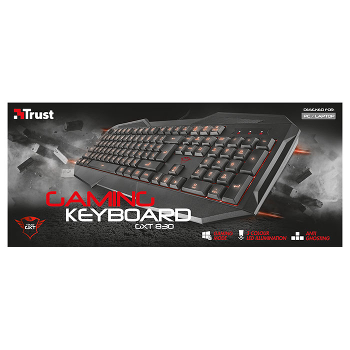 Клавіатура TRUST Gaming GXT 830 (21464)