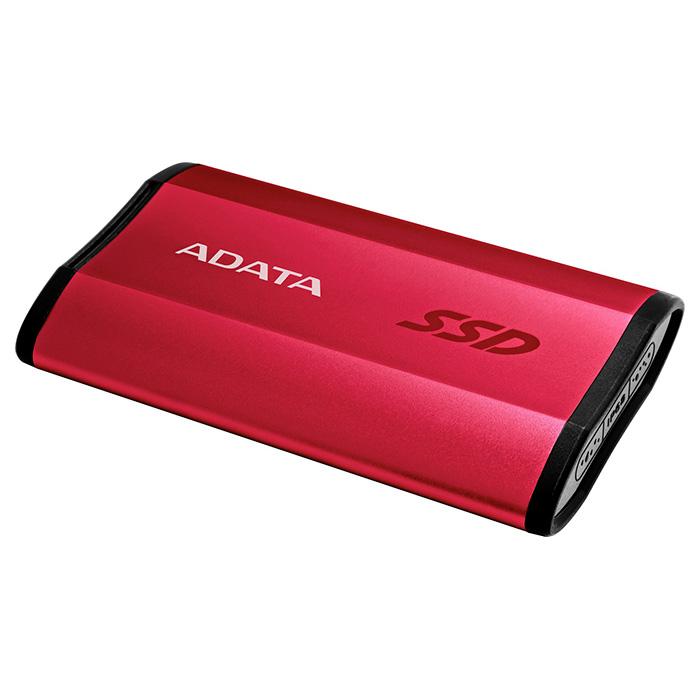 Портативный SSD ADATA SE730 250GB Red (ASE730-250GU31-CRD)