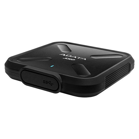 Портативный SSD ADATA SD700 256GB Black (ASD700-256GU3-CBK)