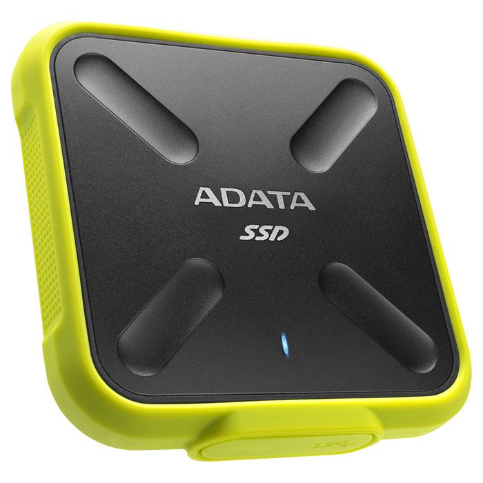 Портативный SSD ADATA SD700 256GB Yellow (ASD700-256GU3-CYL)