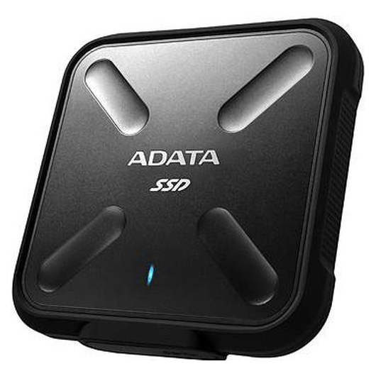 Портативный SSD ADATA SD700 512GB Black (ASD700-512GU3-CBK)