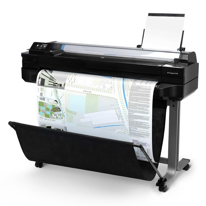 Широкоформатний принтер HP DesignJet T520 ePrinter (CQ890A)