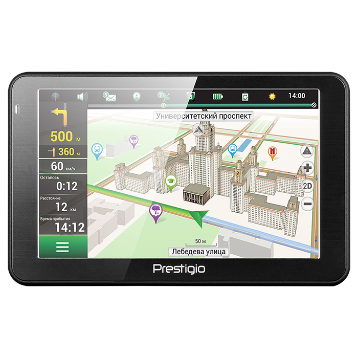 GPS навигатор PRESTIGIO GeoVision 5068 (Navitel)