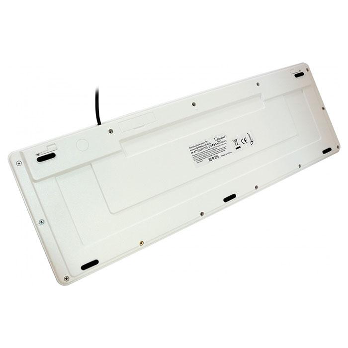 Клавіатура GEMBIRD KB-6250LU-W-UA