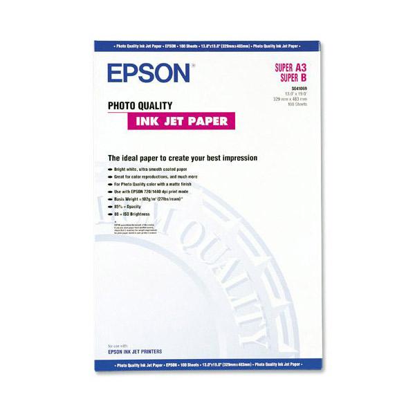 Фотопапір EPSON Photo Quality A3 105г/м² 100л (C13S041068)
