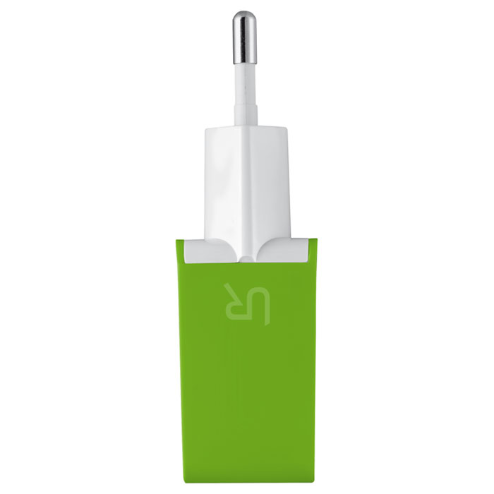 Зарядное устройство TRUST Urban 5W Wall Charger with 2 USB Ports Lime Green (20150~EOL)