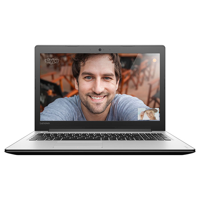 Ноутбук LENOVO IdeaPad 310 15 Chalk White (80TT004QRA)