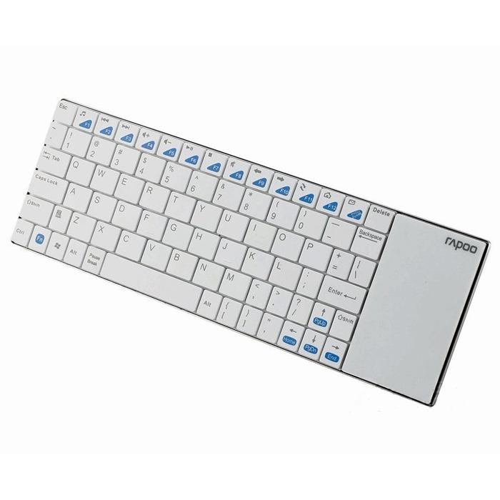 Клавіатура бездротова RAPOO E2700 White